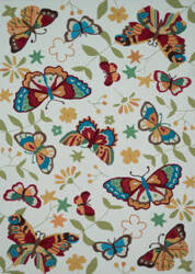 Loloi Juliana Jl-31 Ivory / Butterfly Area Rug