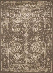 Loloi Journey Jo-02 Dark Taupe / Ivory Area Rug