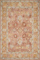 Loloi Julian Ji-04 Terracotta - Gold Area Rug