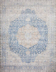 Loloi II Layla Lay-07 Blue - Tangerine Area Rug