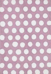 Loloi Lola Shag Ll-02 Lilac - White Area Rug
