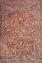 Loloi Loren Lq-06 Red - Multi Area Rug