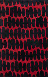 Loloi Nova NV-05 Red / Black Area Rug