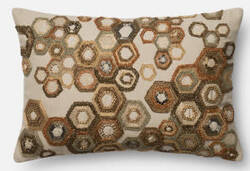 Loloi Pillow P0436 Brown - Beige