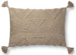 Loloi Pillows P0828 Taupe