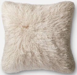 Loloi Pillow P0245 Ivory