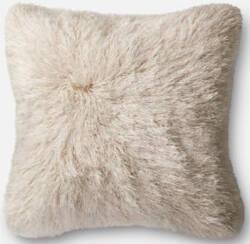 Loloi Pillow P0245 Ivory
