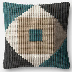Loloi Pillow P0505 Teal - Multi