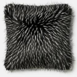 Loloi Pillow P0396 Black - White