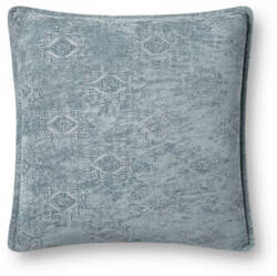 Loloi Pillows P0830 Light Blue Area Rug