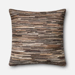 Loloi Pillow P0383 Brown