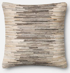 Loloi Pillow P0383 Grey - Beige