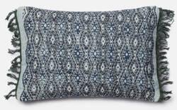 Loloi Pillow P0407 Blue - Grey