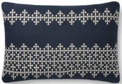 Loloi Pillows P0833 Navy - Ivory Area Rug