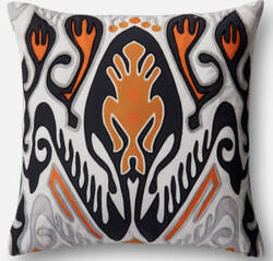 Loloi Pillow P0510 Orange - Multi