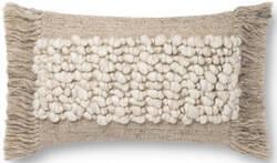 Loloi Justina Blakeney Pillows P0805 Sand Area Rug
