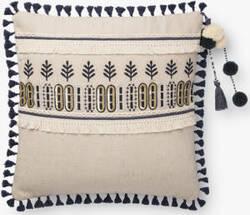 Loloi Pillows P0779 Natural - Blue