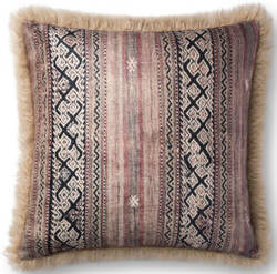 Loloi Pillows P0801 Multi - Beige