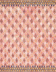 Loloi Priti By Justina Blakeney Prt-06 Pink - Sunset Area Rug