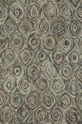 Loloi Rowan Rw-02 Charcoal / Brown Area Rug