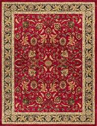 Loloi Stanley ST-01 Red Charcoal Area Rug