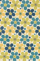Loloi Summerton Srs16 Ivory / Blue Area Rug