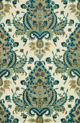 Loloi Taylor Hty05 Blue / Gold Area Rug