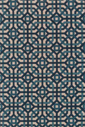 Loloi Vero Vo-03 Natural - Teal Area Rug