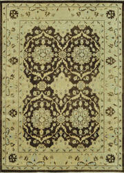 Loloi Vernon Vn-01 Brown / Light Gold Area Rug
