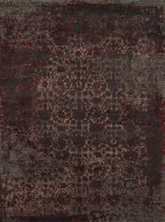 Loloi Viera VR-05 Charcoal / Red Area Rug