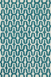 Loloi Weston Hws09 Ivory / Teal Area Rug