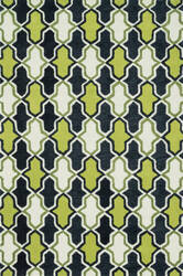 Loloi Weston Hws10 Lime / Charcoal Area Rug