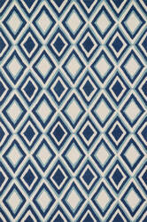 Loloi Weston Hws13 Ivory / Blue Area Rug