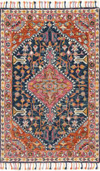 Loloi Zharah Zr-01 Navy - Multi Area Rug