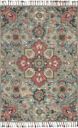 Loloi Zharah Zr-13 Light Blue - Multi Area Rug