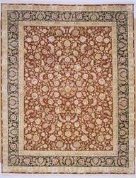Lotfy and Sons Blossom 13 Burgundy/Dark Blue Area Rug