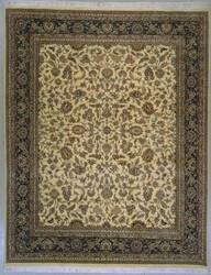 Lotfy and Sons Narmada 320 Ivory/Dark Blue Area Rug