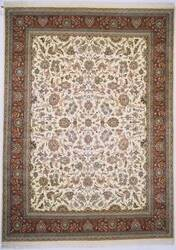 Lotfy and Sons Narmada 320 Ivory/Red Area Rug