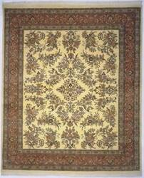 Lotfy and Sons Narmada 400 Ivory/Rose Area Rug