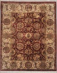 Lotfy and Sons Majestic 920 Burgundy/Gold Area Rug