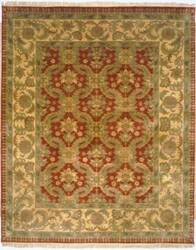 Lotfy and Sons Majestic Lsn-13 Red/Gold Area Rug