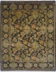 Lotfy and Sons Majestic Scc-1 Black/Black Area Rug