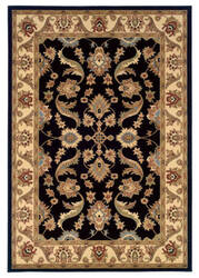 Lr Resources Adana 80371 Black - Cream Area Rug