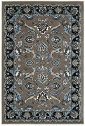 Lr Resources Adana 80372 Gray - Black Area Rug