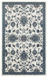 Lr Resources Adana 80382 White - Soft Blue Area Rug