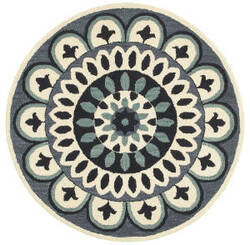 Lr Resources Dazzle 54053 Navy Area Rug