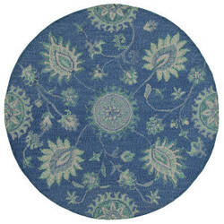 Lr Resources Dazzle 54063 Blue Area Rug