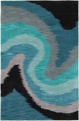 Lr Resources Fashion 02511 Blue Area Rug