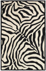 Lr Resources Fashion 02512 Black - Cream Area Rug
