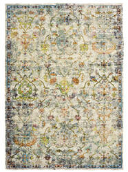 Lr Resources Gala 81271 Green Multi Area Rug